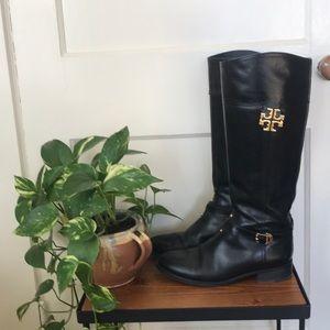 Tory Burch tall riding boots